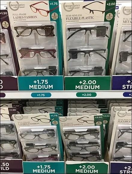 Foster Grant Reading Glasses by DesignOptics