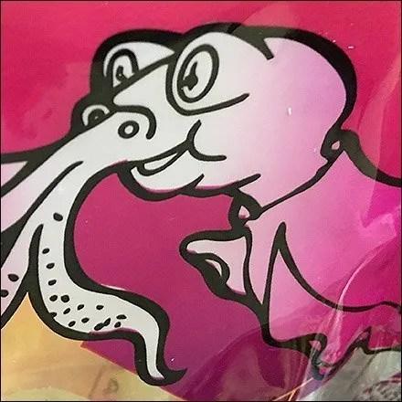 Grab-And-Go Calamari Bagged Branding