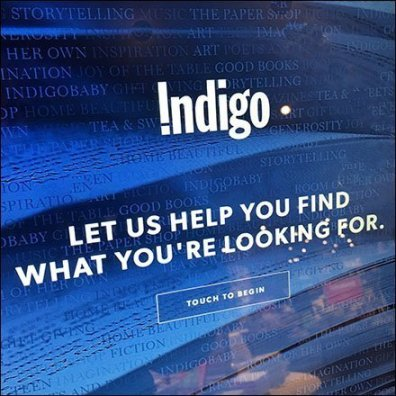 Find What You're Looking For Bookstore Kiosk