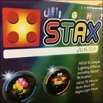 Light Stax Lego Building Blocks Display