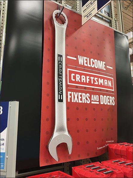 Craftsman Wrench Corrugated Hook Outfitting