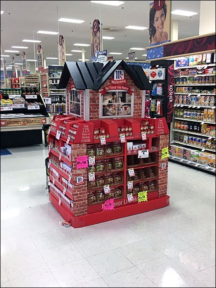 McCormick Spices No Flavor Like Home Display