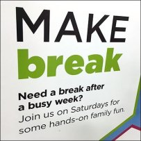 Saturday Crafts Break Hands-On Family Fun