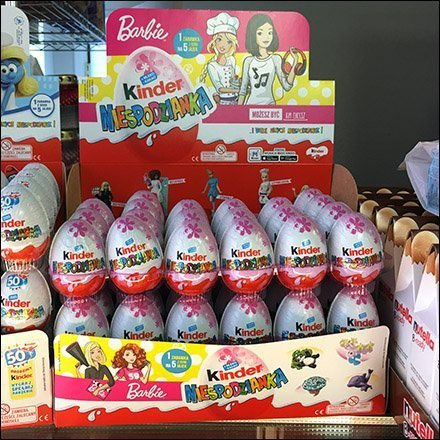 Polish Barbie Doll Kinder Joy Merchandising