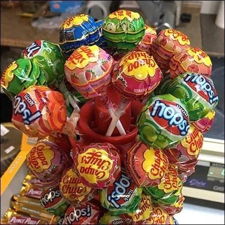 Polish Lollipops Table-Top Tree Display