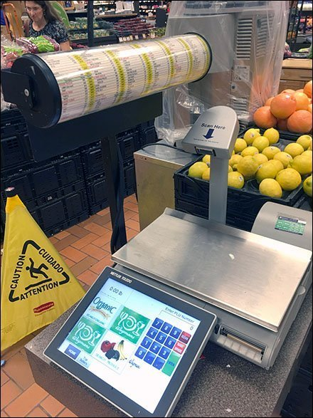 Produce Price Code Cylinder Simplifies Checkout