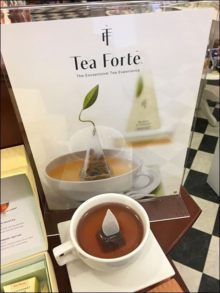 Tea Forte Exceptional Tea Bag Hero Display