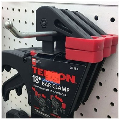 Tekton Bar Clamp Display Hook Feature1