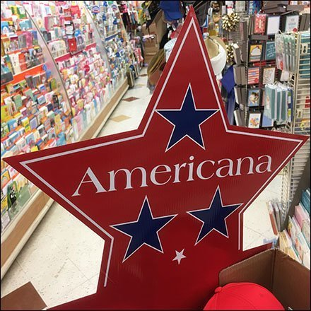 Americana for America's Birthday Display Feature