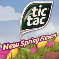 New Tic Tac Flavors Display