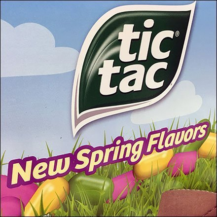 New Tic Tac Flavors Display