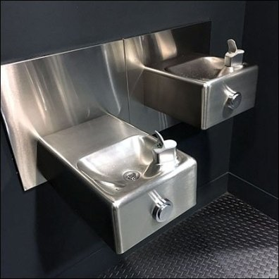 Contemporary Water Fountains Step-And-Repeat