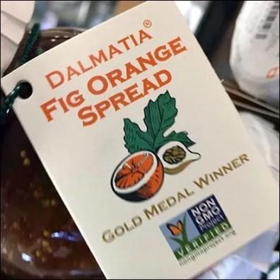 Dalmatia Spread Gold Metal Winner Display