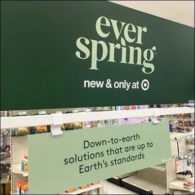 Ever Spring Flat-Stock Bar-Mount Sign Hanger