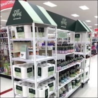 Ever Spring Household Cleaners Island Display