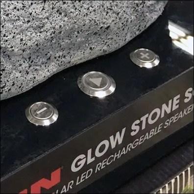 Solar Speaker Try-Me Controls Built-In