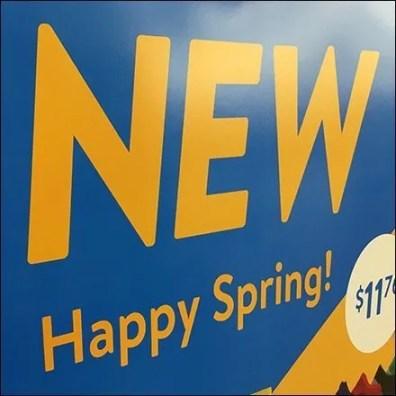 Happy Spring Minecraft Anti-Shoplifting Sensor