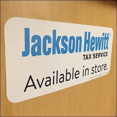 Jackson Hewitt Service Counter Tax Referral