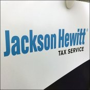 Jackson Hewitt Tax-Time Pin-Up Hook