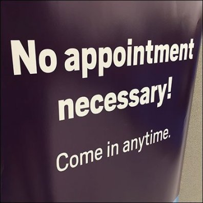 Tax Time No Appointment Necessary Invitation