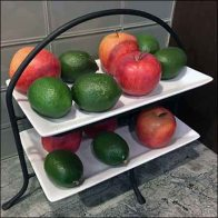 Fruit Ripening Rack Kitchen Showroom Prop