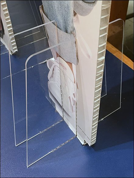 Lifesize Corrugated Lifestyle Model Stands