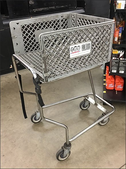 Pepboys Automotive Shopping Cart Concept