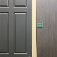 Sign System Consistency - Clothes Closet Signs