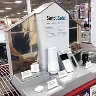 SimpliSafe Home Security Table-Top Display