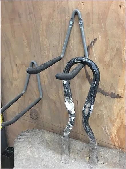 Single-Wire Double Arm Utility Hook