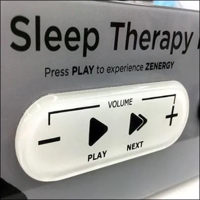 Zenergy Sleep Therapy Sound Try-Me Controls