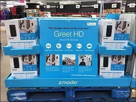 Zmodo Smart Doorbell Table-Top Display