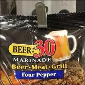 Beer Marinade Hang Rod Strip Merchandiser