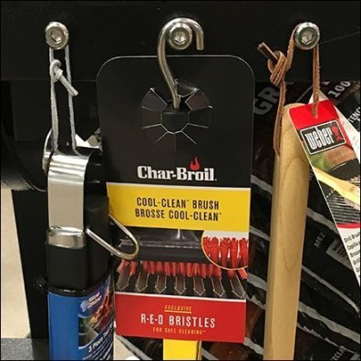 Char-Broil Grill Utensils Ride Sidesaddle