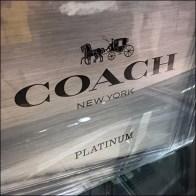 Coach Platinum Perfume Teddy Bear Premium