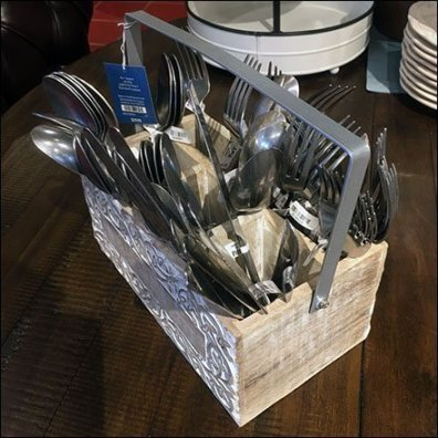 Cutlery Carrier Cross-Sell In Tableware