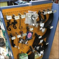 Do-It-Yourself Pegboard PowerWing Display