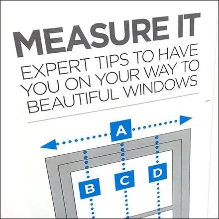Expert Window Measurement Tips In-Store