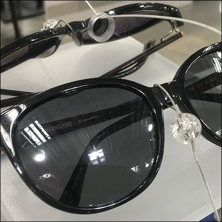 Private Label Tethered Sunglass Sample Ledge
