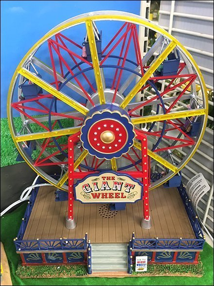Lemax Ferris Wheel Hero Display Focus