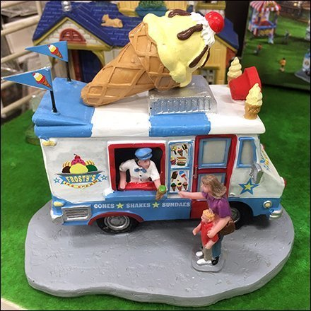 Mr. Frosty Ice Cream Truck Miniature