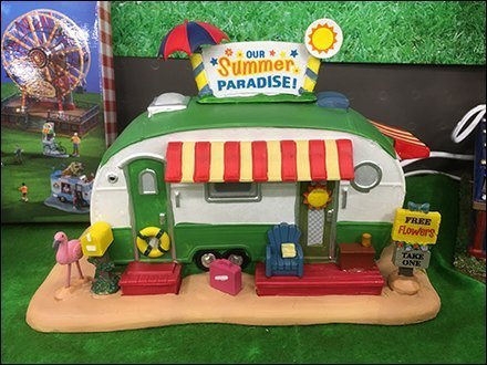 Miniature Recreational Vehicle Summer Trailer