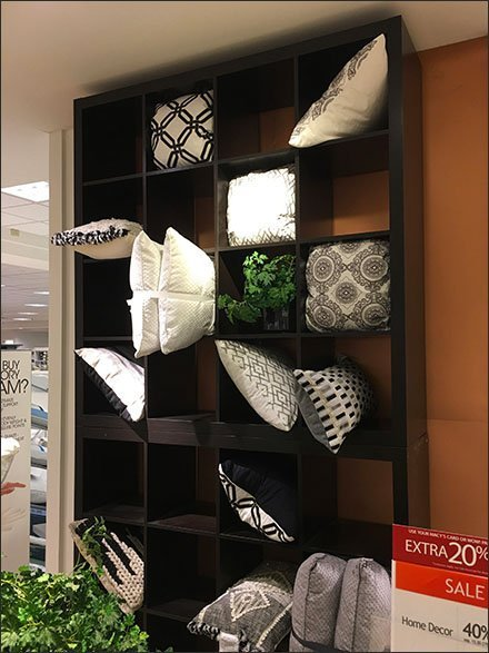 Pillow Pigeonhole Display Variety