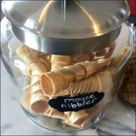 Milkhouse Creamery Ice Cream Cone Apothecary Jars