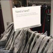 Need A Hand Shopping Bag Reminder