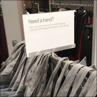 Need A Hand Shopping Bag Offer Square