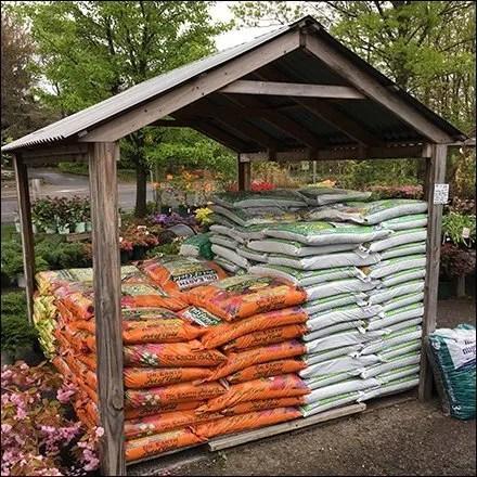 Outdoor Pallet Merchandising Weather Protection