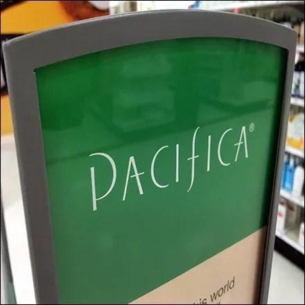 Pacifica Skincare Endcap Brand Definition