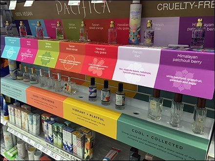 Pacifica Fragrances Color-Coded Testers Inline