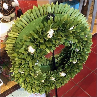 Extensible Wreath Floorstand Display